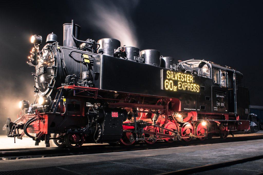 s'Öchsle - Silvester in der Eisenbahn 1