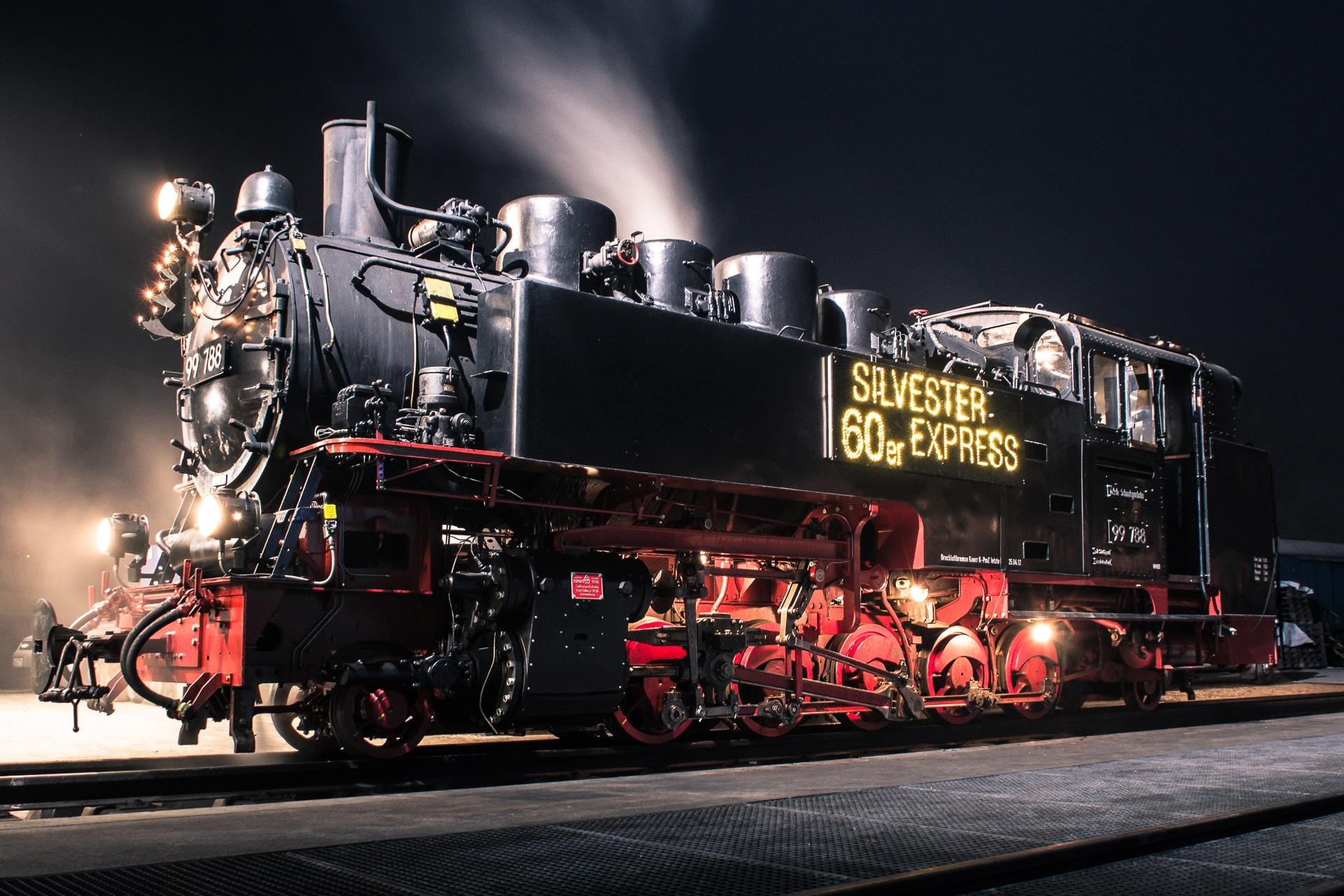 s'Öchsle – Silvester in der Eisenbahn