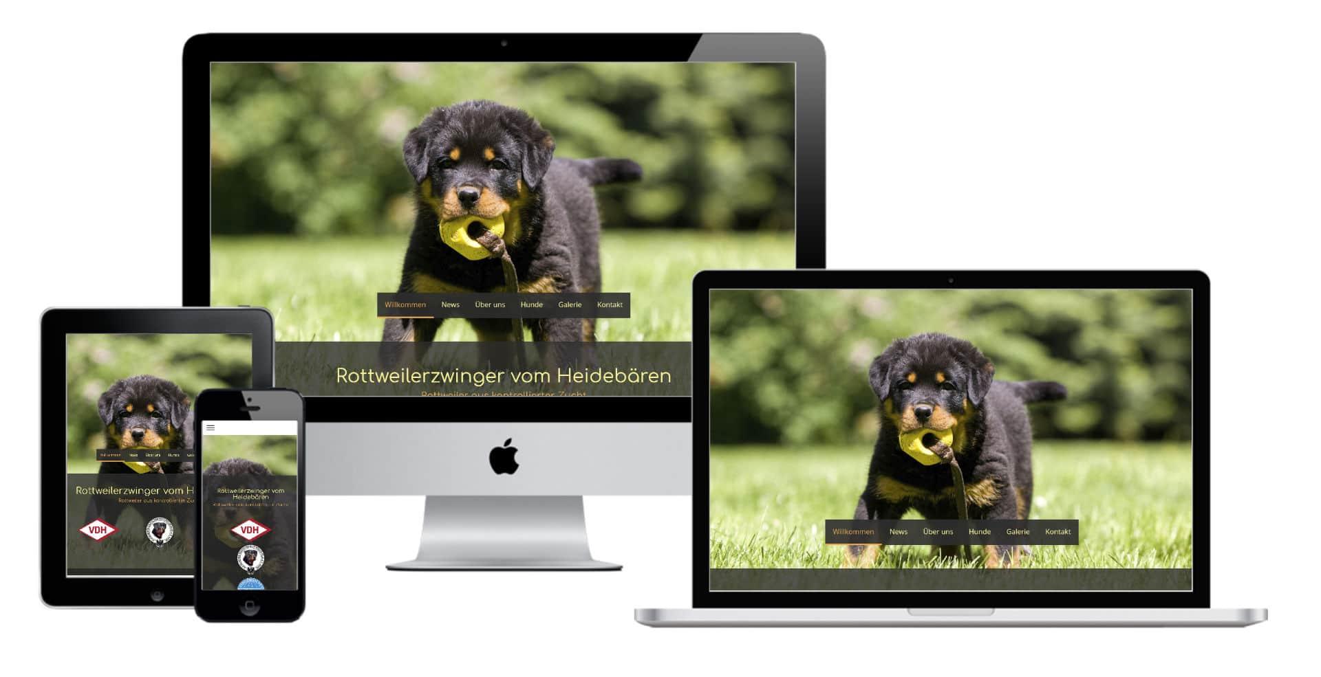 Make a Smile Medie Website Webdesign - Rottweiler Grube (2)