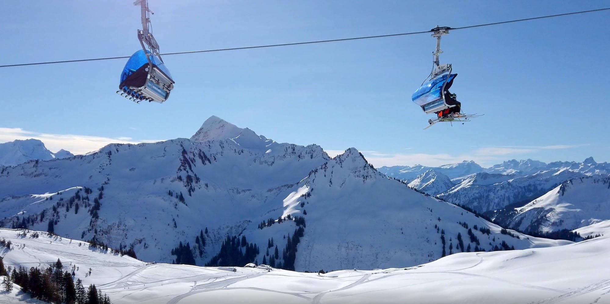 Skiparadies Damüls – Österreichische Alpen
