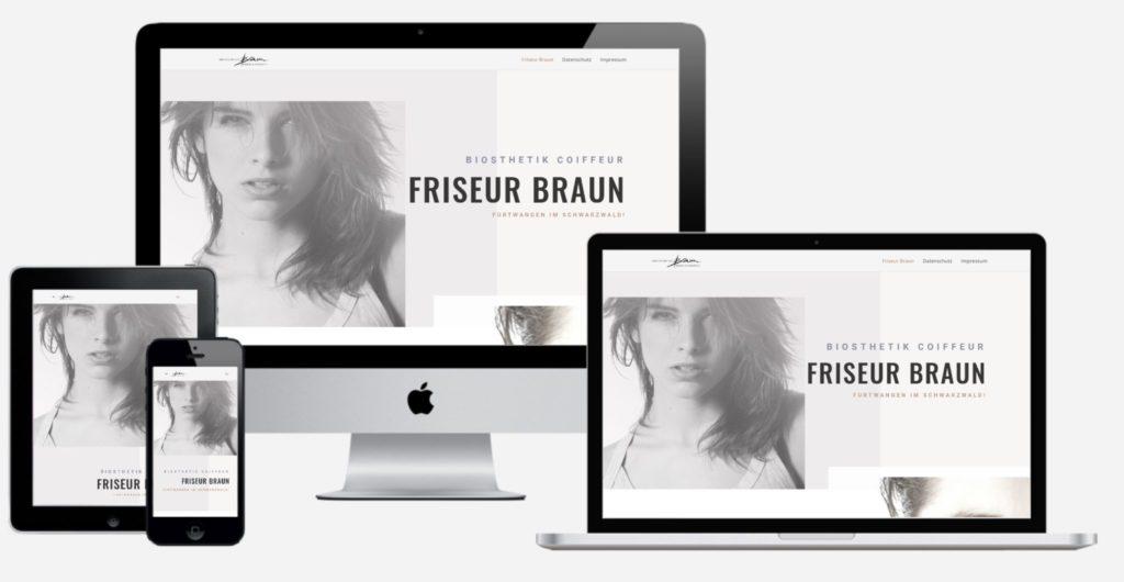 Make a Smile Medie Website Responsive Webdesign - Friseur Braun (2)