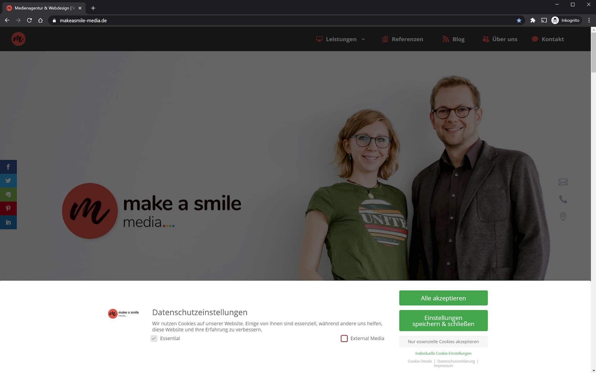 Datenschutz und DSGVO im Webdesign 5