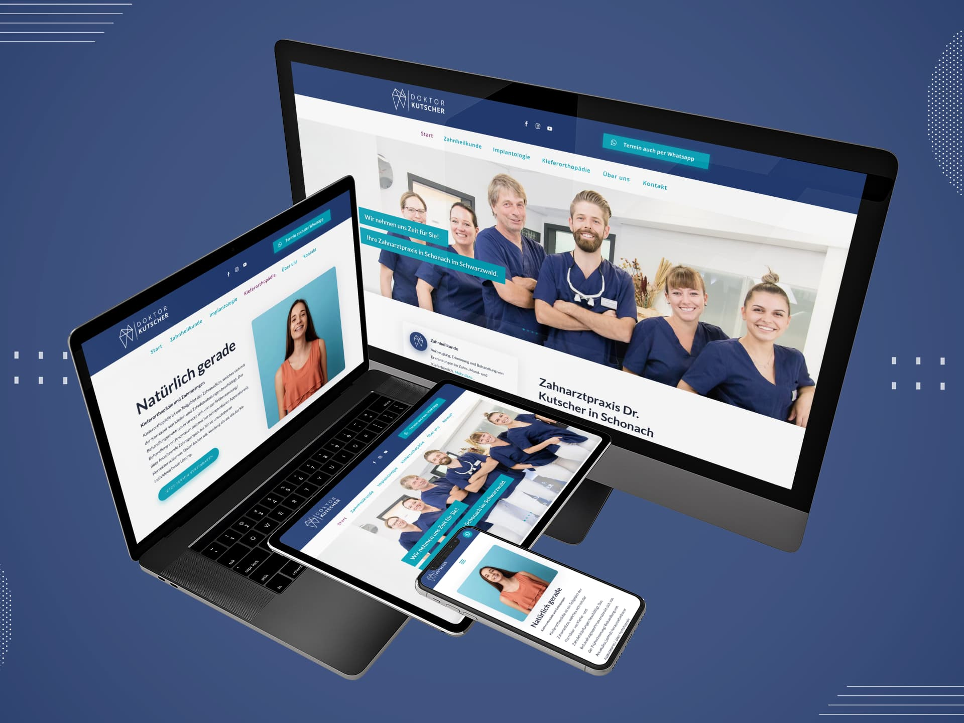 Neue Website – Doktor Kutschter