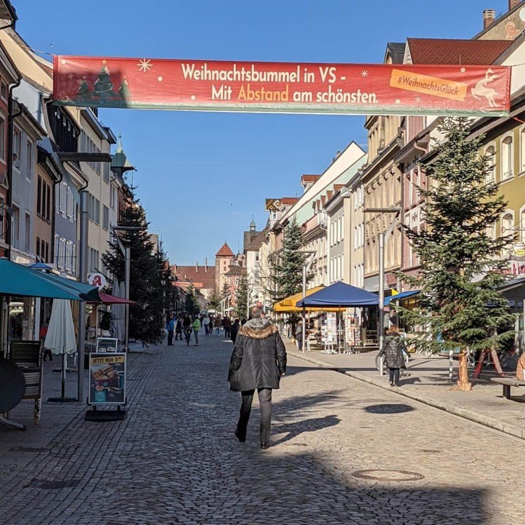 #Weihnachtsglück Villingen-Schwenningen Banner